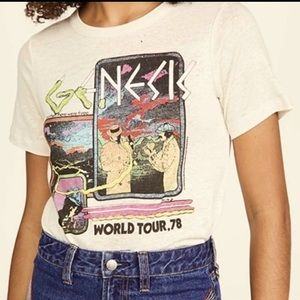 CHASER Genesis Off White World Tour 78 Graphic Tee